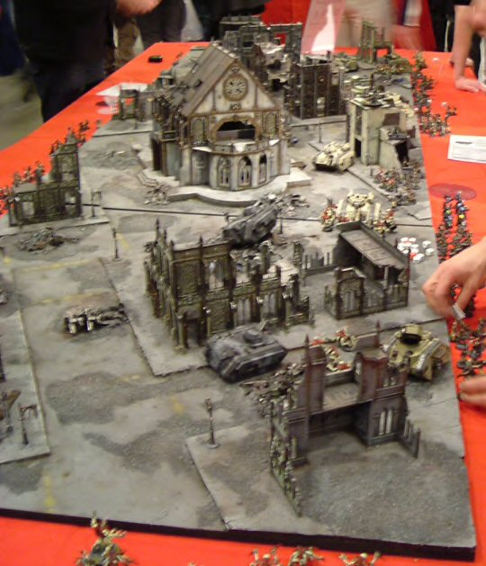 Tables Warhammer 40k